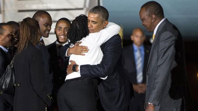 Obama chega ao Quênia para sua viagem oficial mais emotiva