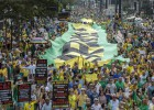 Brazilians stage third march to demand president's resignation