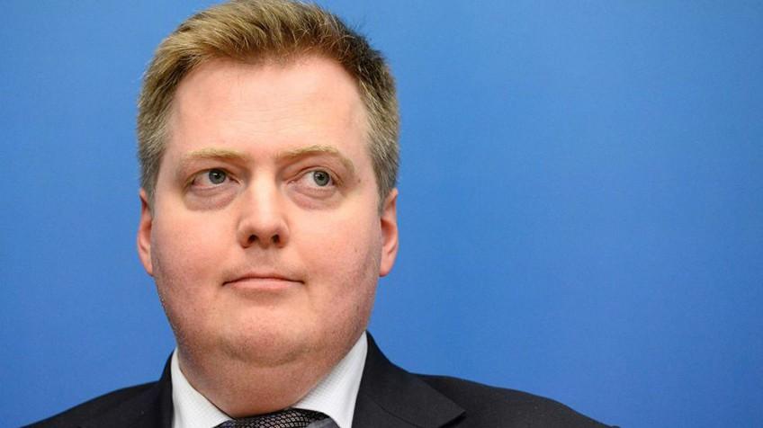 O primeiro-ministro da Islândia, Sigmundur David Gunnlaugsson, em outubro de 2014.