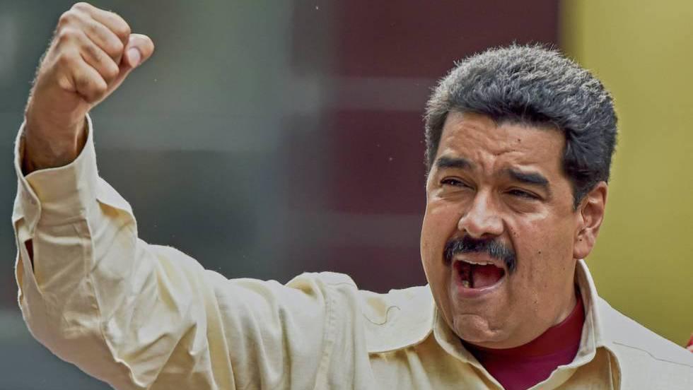 O presidente venezuelano, Nicolás Maduro, na passada terça-feira em Caracas.