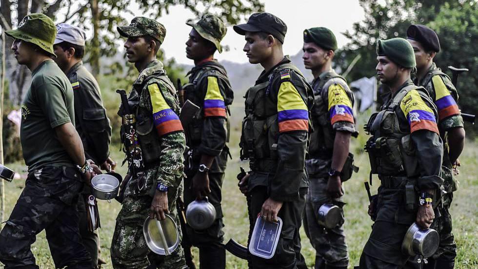 Guerrilheiros das FARC.