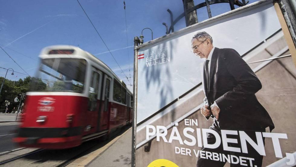 Ultradireita é derrotada por margem mínima na eleição presidencial austríaca