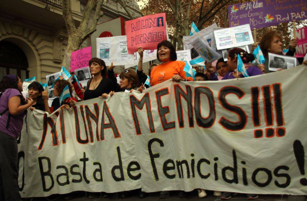 femminismo ni una meno argentina