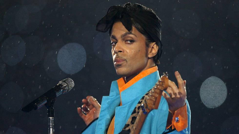 Prince, em um show em Chicago, em 2007.