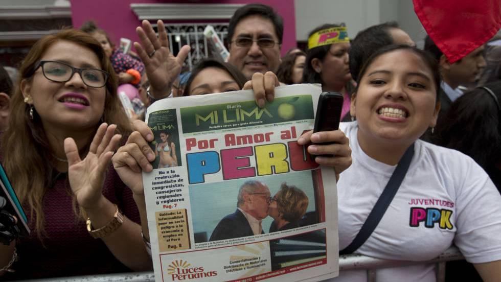 La autoridad electoral de Perú da a Kuczynski como ganador
