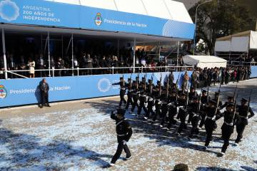 Los militares argentinos vuelven a protagonizar una fiesta
