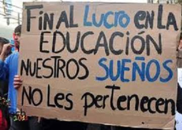 """El sistema educativo chileno está distorsionado"""