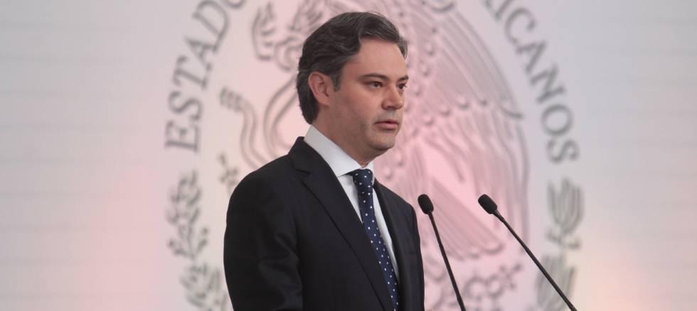 El secretario de Educación Pública de México, Aurelio Nuño, durante la presentación del Modelo Educativo