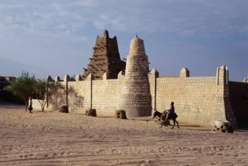 La mezquita de Tombuctú (Malí), construida en el siglo XV.