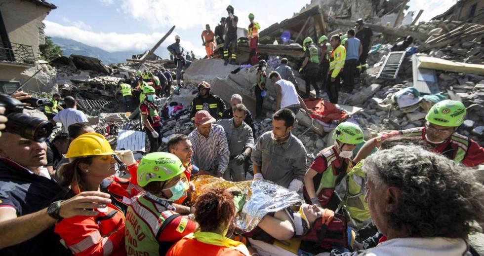 Terremoto en italia ltimas noticias internacional el for Ultimas noticias del espectaculo internacional