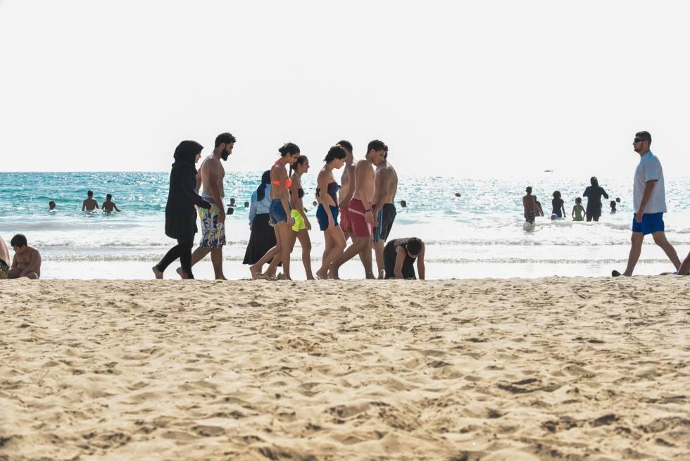 playas mixtas espana