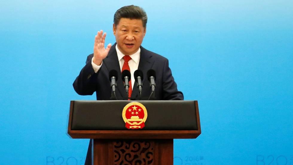 O presidente Xi Jinping neste sábado em Hangzhou.