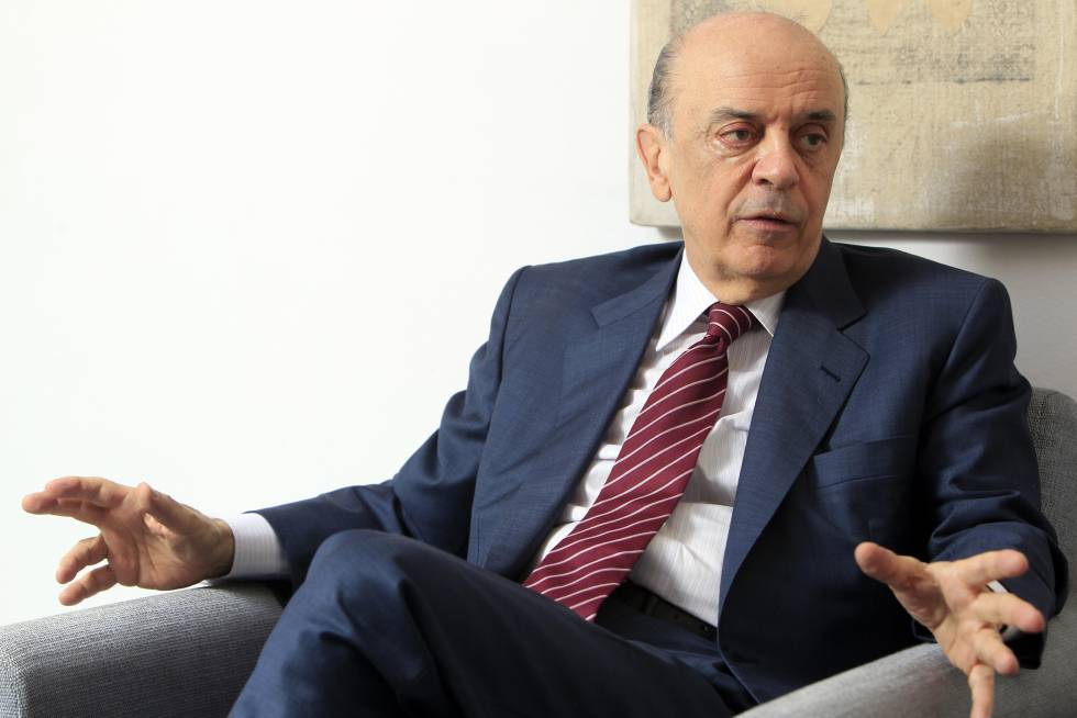 José Serra, actal ministro de Exteriores do Brasil, em Madri em 2011.