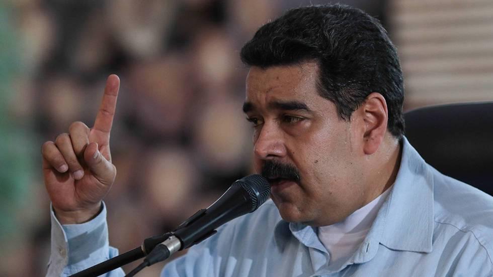 Nicolás Maduro, num discurso em Chaguaramas (Venezuela) nesta sexta-feira.