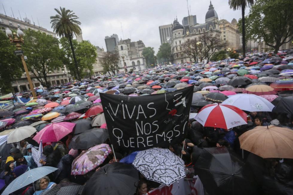 Seis asesinatos por violencia machista en Argentina en menos de 48 horas | Argentina | EL PAÍS
