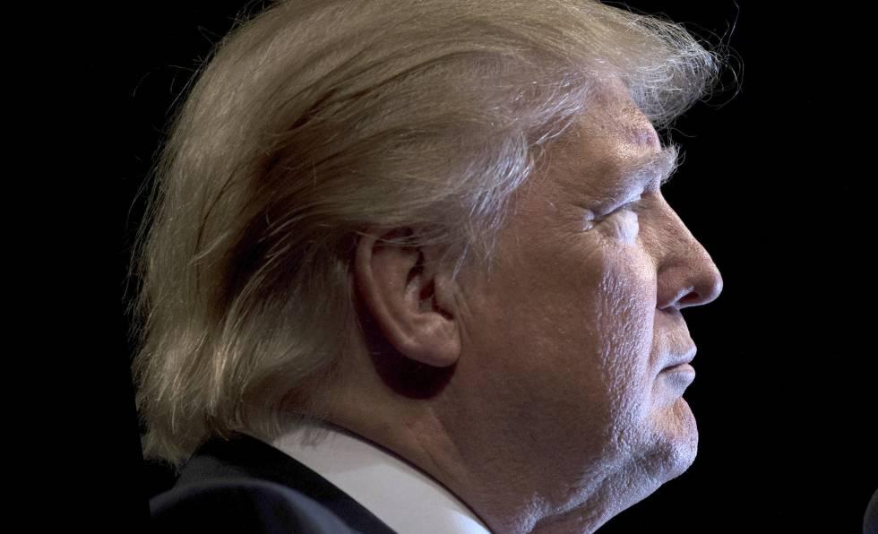 Donald Trump, durante la campaña electoral.