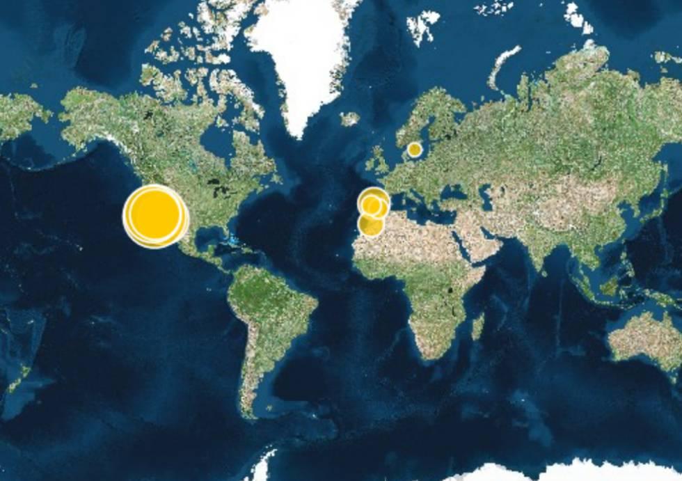 Gráfico: Las mayores plantas solares del mundo
