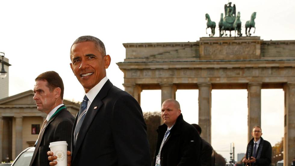 Merkel oferece a Trump colaboração e mais gasto militar