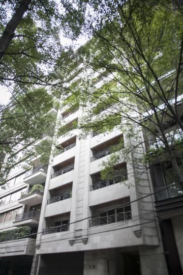 Vivienda de Moisés Mansur en el número 71 de la Avenida Campos Elíseos de Ciudad de México.