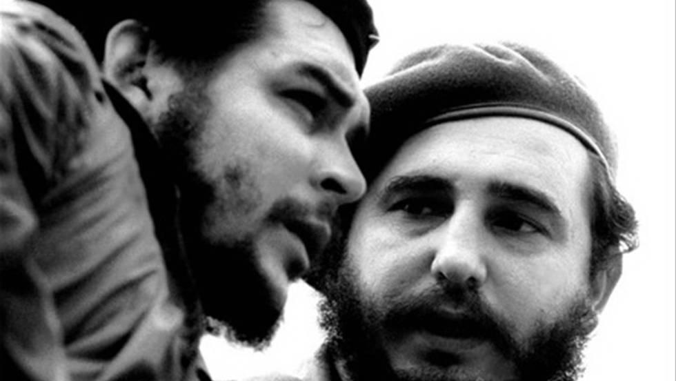 Ernesto Che Guevara e Fidel Castro. ROBERTO SALGA (AFP)