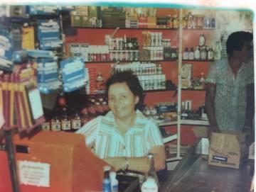 Blanca, de cajera en un supermercado en Venezuela.
