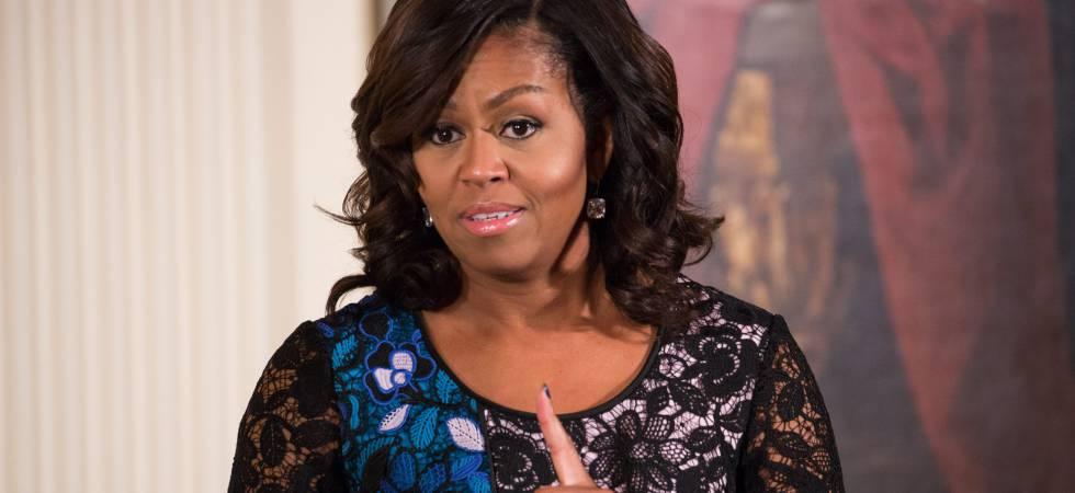 Michelle Obama, el pasado 15 de noviembre.