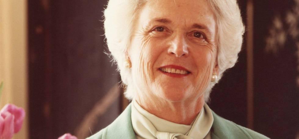 Barbara Bush, en junio de 1981.