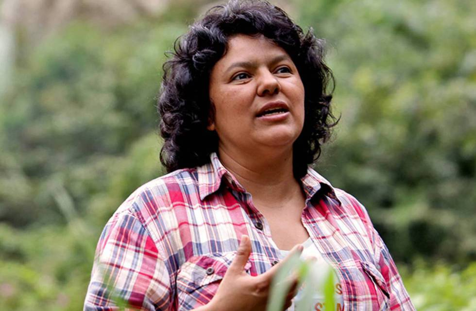 Honduras environmental leader Berta Cáceres.