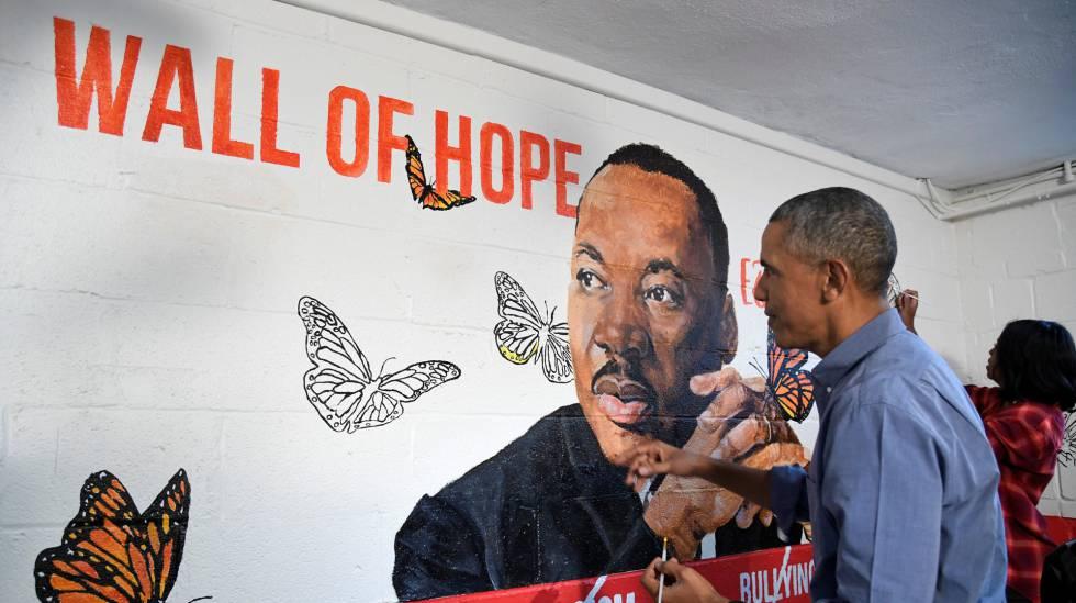 Martin Luther King Tengo Un Sueno Un Solo Sueno Seguir Sonando