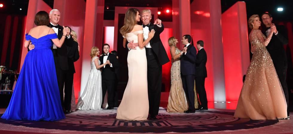 Resultado de imagen para primer baile de los trump