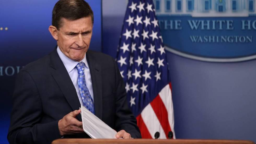 Dimite el asesor de seguridad nacional de Trump por su relación con Rusia