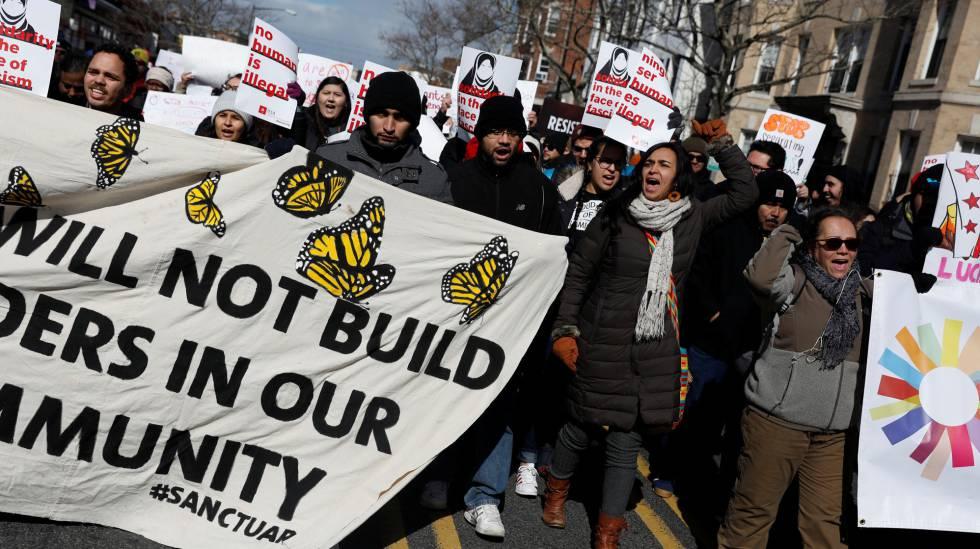 """Un día sin inmigrantes: """"Sin nosotros los inmigrantes, Estados ..."""
