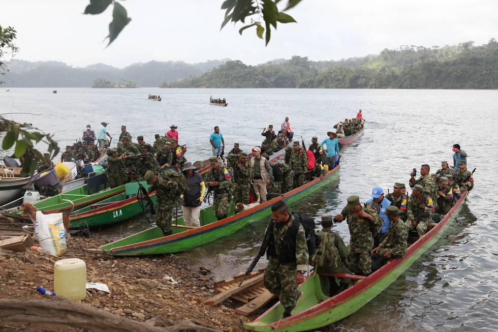 Alarma por el avance de bandas criminales en las zonas abandonadas por las FARC