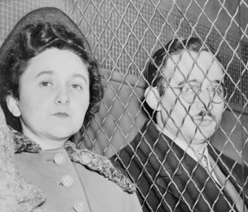 Ethel y Julius Rosenberg.