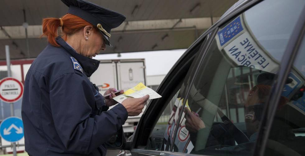 Los europeos deben mostrar desde hoy el pasaporte al entrar y salir ...