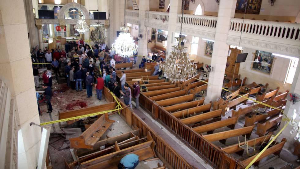 3f5e89bc5d Dois ataques suicidas contra igrejas deixam 44 mortos três semanas antes da  visita do Papa