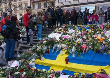 homenaje a las vctimas del atentado de estocolmo