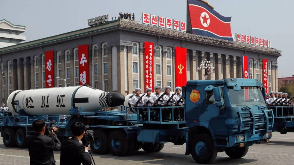 Resultado de imagen para misil de corea