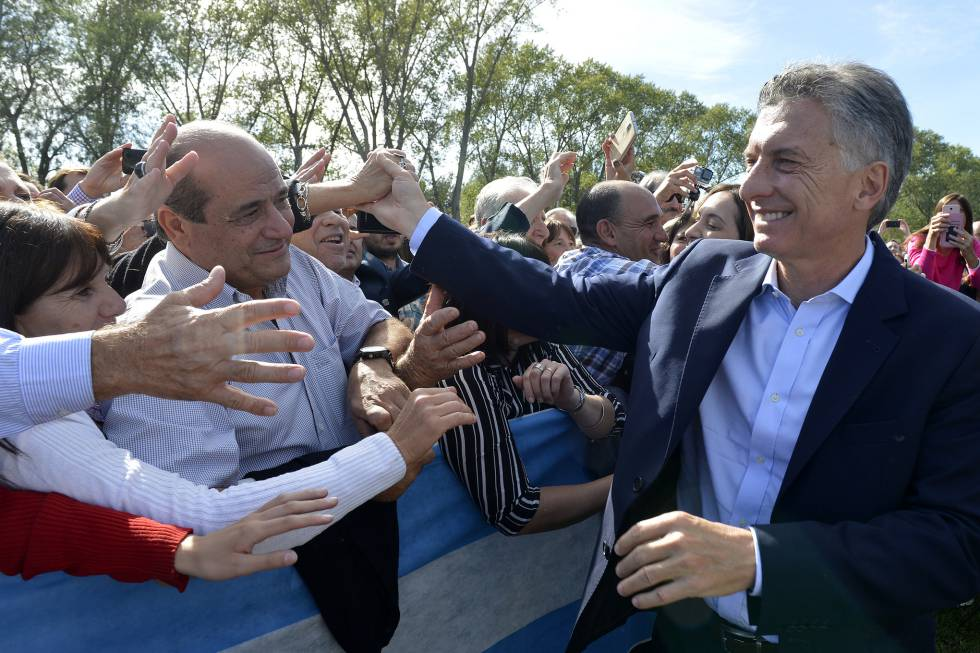 Resultado de imagen para Macri en Saladillo