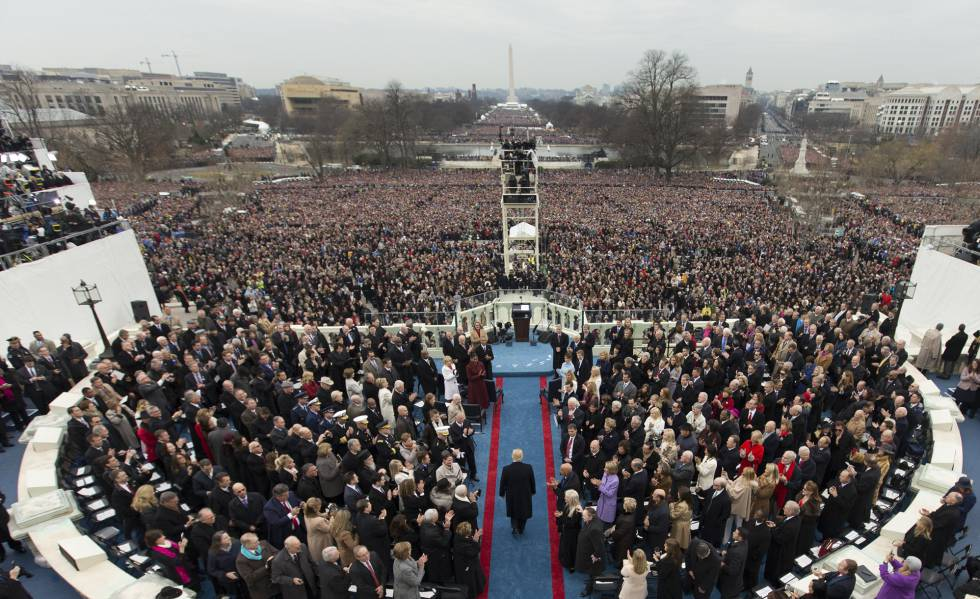 Donald Trump's inauguration on January 20.