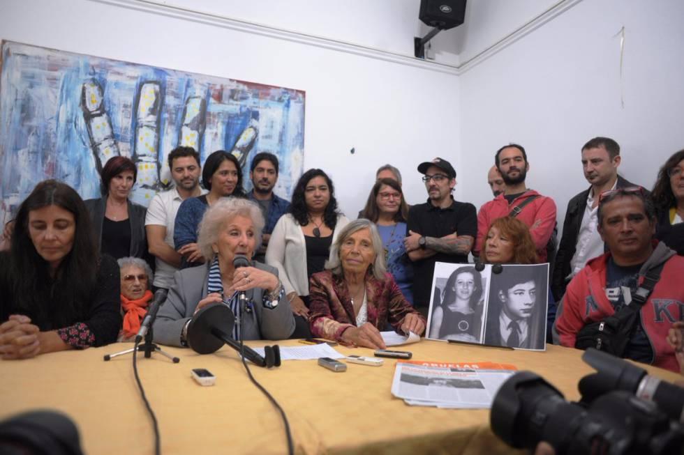 Las Abuelas de Plaza de Mayo recuperan al nieto 122   Argentina   EL ...