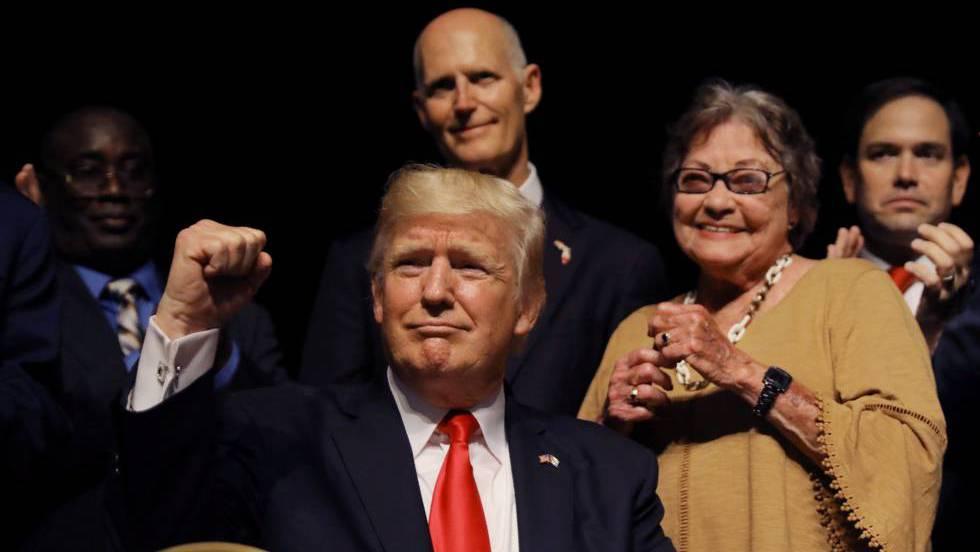 Trump, el último de Bahía de Cochinos