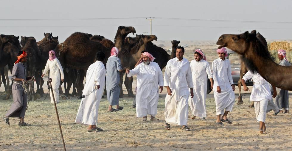 Resultado de imagen para personas en qatar