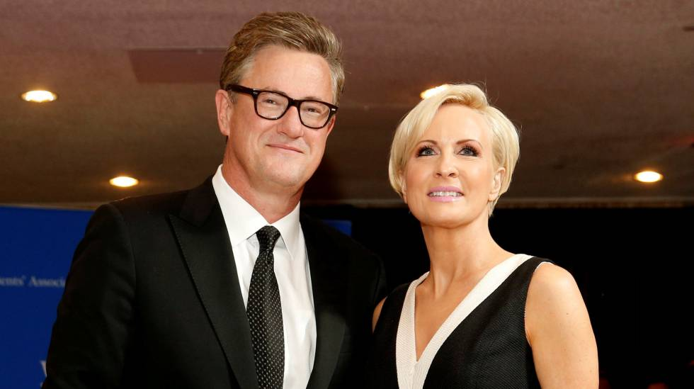Joe Scarborough y Mika Brzezinski en un evento.