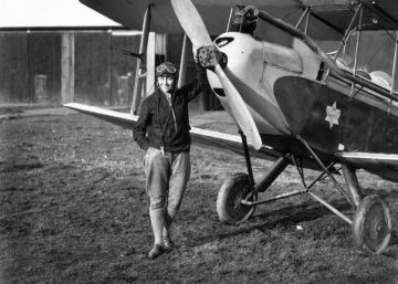 Amy Johnson, la heroína de los vuelos de larga distancia