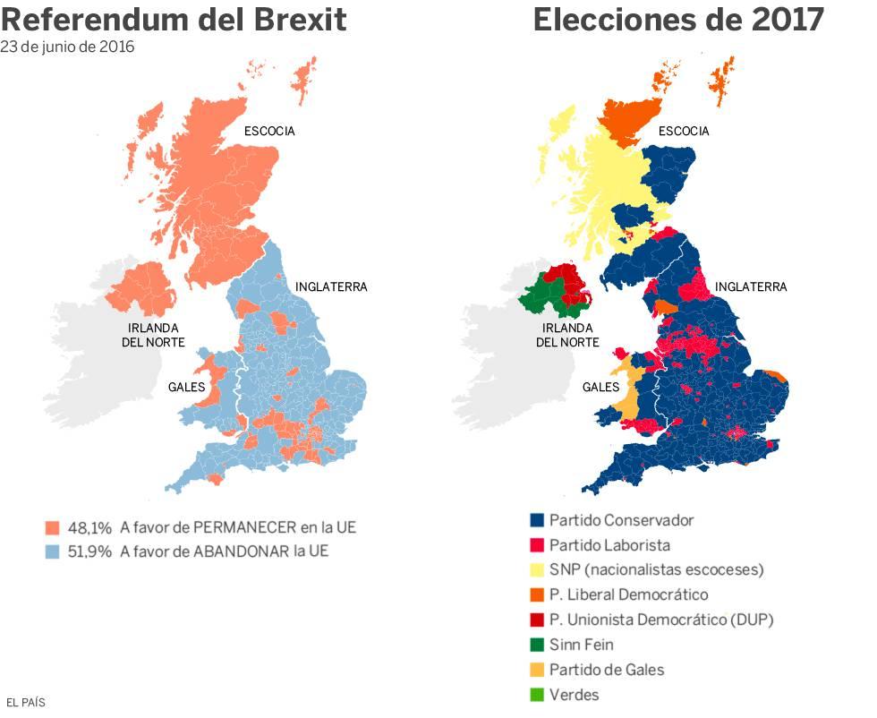 El año que convirtió a muchos contrarios al 'Brexit' en partidarios