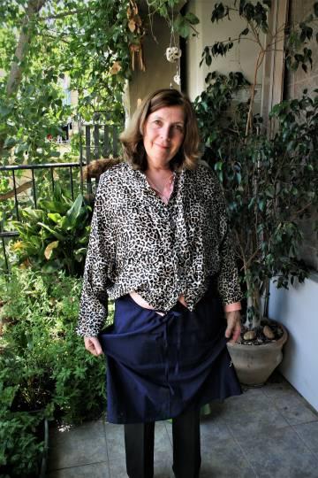 La rabina Anat Hoffman, este miércoles en Jerusalén.