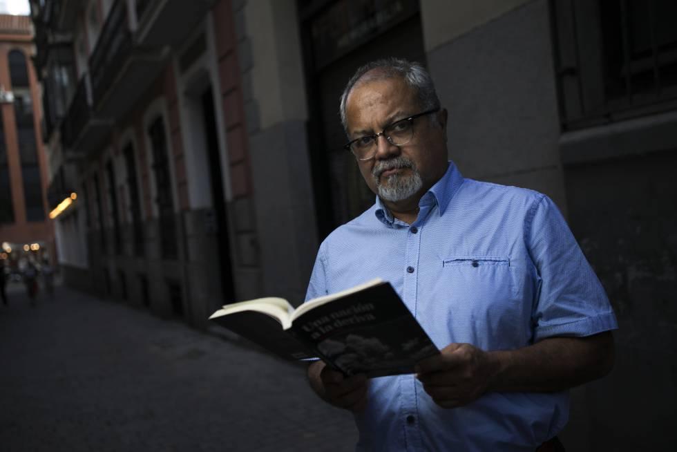 En esta imagen, Tulio Hernández, escritor y periodista venezolano en España.