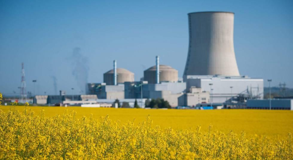 La central nuclear de Civaux, en el centro de Francia