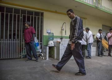 Los migrantes centroamericanos se refugian en México ante las amenazas de Trump